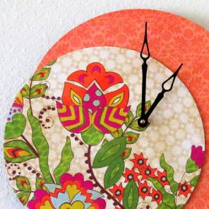 Bohemian Wall Clock