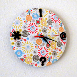 Small Wall Clock